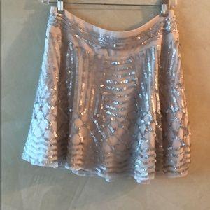 NWOT Ted Baker sequined skirt
